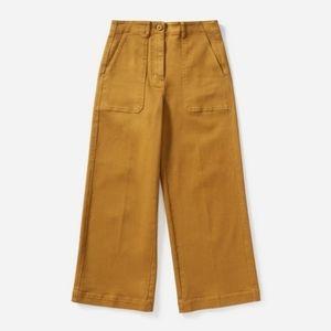Everlane Wide Leg Utility Crop Pants Size 14